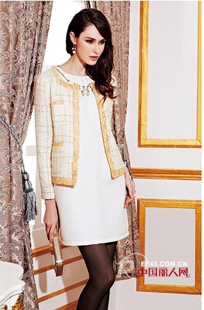 秋款长袖连衣裙搭配  秋季连衣裙搭配什么外套