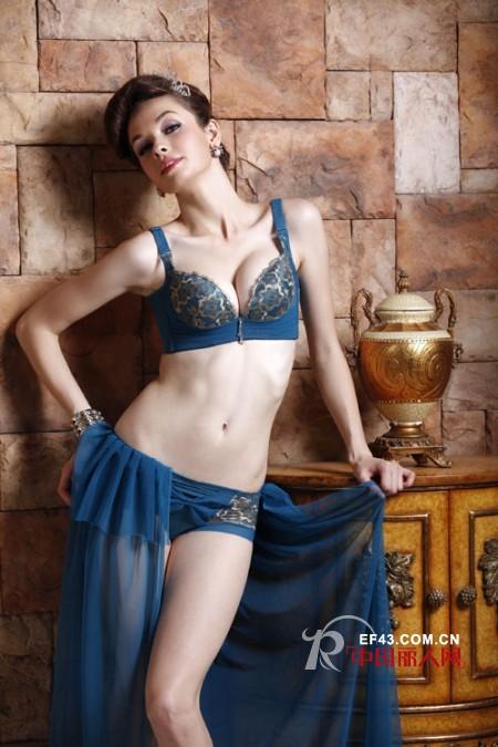 蓝色内衣款式 纯净的颜色成就女性魅力