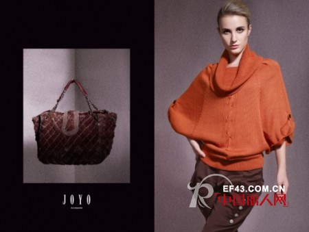 优雅时尚 JOYO品牌女装2011冬装新品抢先体验