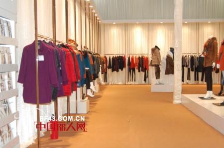 2012深圳服装展——伯柔女装专访