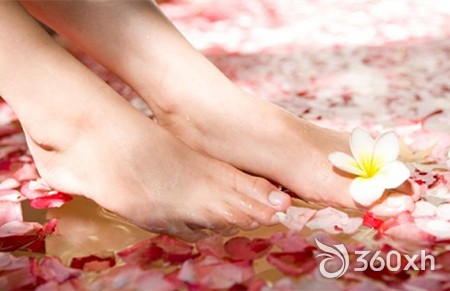 High heel controlled foot care steps
