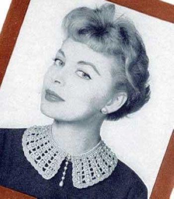 经典不败 50年代珍珠衣领装卷土重来(图1)