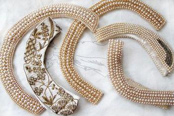 经典不败 50年代珍珠衣领装卷土重来(图4)