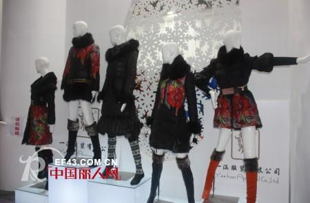 一涵服饰女装优雅民族风 亮相2013深圳服装展