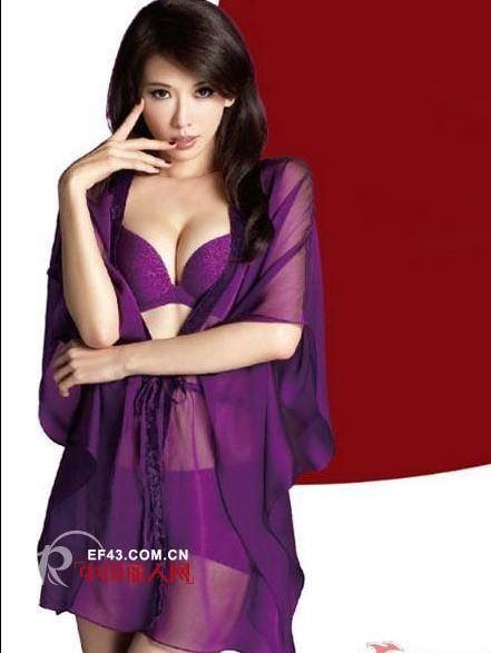 """""""台湾第一美女""""林志玲代言都市丽人内衣"""