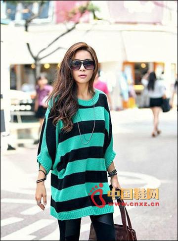 Fashionable atmospheric loose sweater