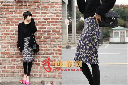 Sexy Leopard Half Skirt