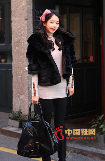 Fur plush jacket