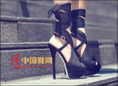 Black strap Roman shoes