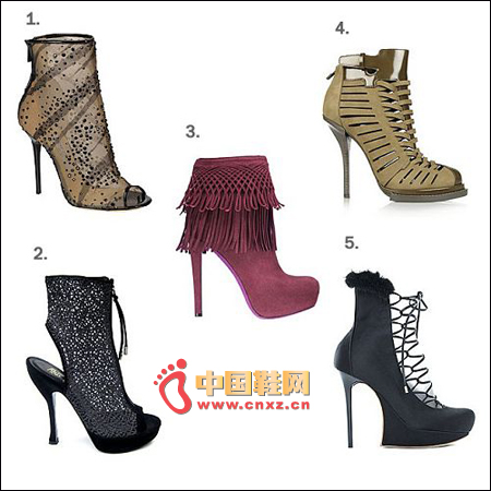 And ankle boots
