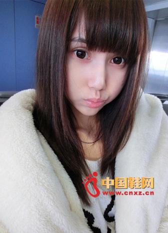 White Rabbit Fur Lapel Fur Jacket + Loose Cartoon Pattern Knitted Sweater, Miao Miao is still so cute