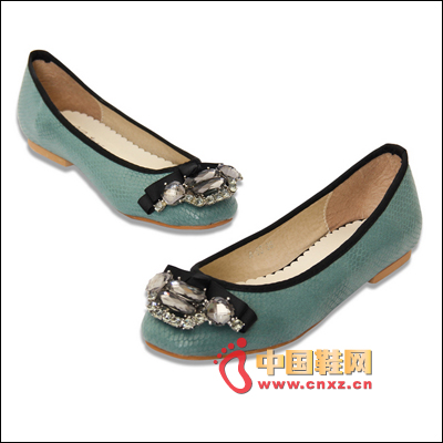 Animal pattern flat shoes