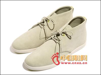 Khaki lace casual shoes