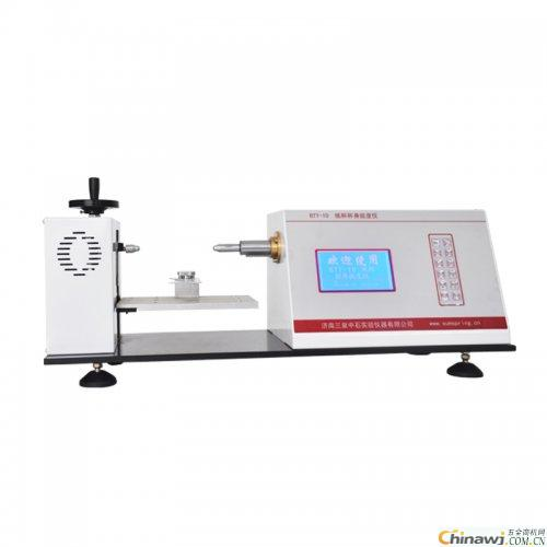 Cup body stiffness tester in line with national standard GB27590