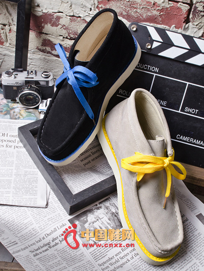 British fashion simple Korean leisure high shoes, casual fashion high help models, fashionable male style oh!