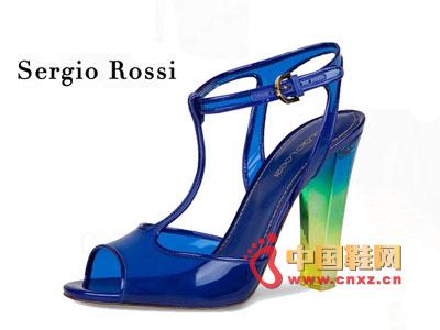 Sergio Rossi Transparent Fish Mouth Heel