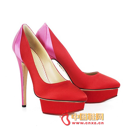 Charlotte Olympia Red High Heels