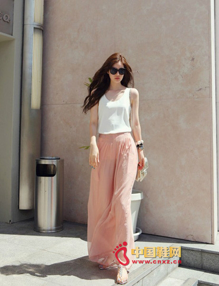 High waist dress
