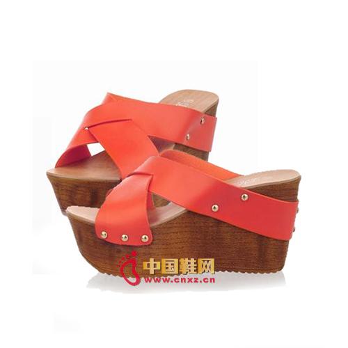 Bright color shoes