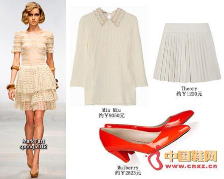 Retro style: Mark Fast Summer 2012 Summer Knitwear Retro Style