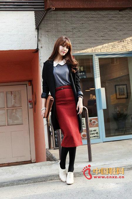 Basic Line Slim Dress