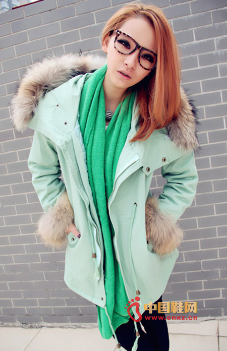 The heavy feeling of cotton clothing is more than enough for the winter.