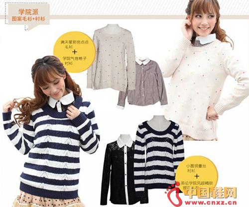 School: Pattern Sweaters + Shirts