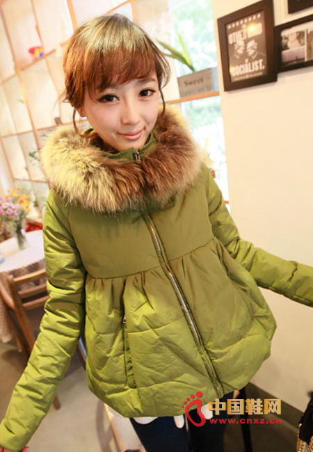 Super beautiful doll type cotton coat, the design is very beautiful