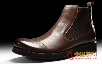 Dragon faction winter warm boots - stylish men's leather high boots