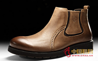 Dragon faction winter warm boots - casual British style leather army boots