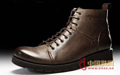 Dragon faction winter warm boots - trend stitching men's high boots