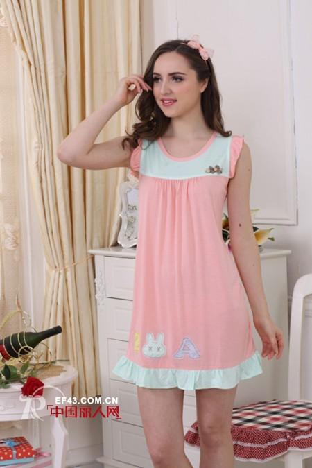 夏季睡衣女套装 夏季纯棉睡衣