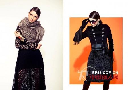 A/E品牌时装2013春夏纽约时装周塔达希(Tadashi Shoji)秀场解析