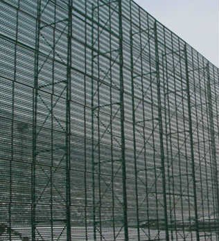 'Juao coal yard wind and dust suppression net wind wall
