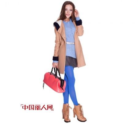 百图秋冬装来袭 宝蓝冷色调给冬季增光添彩