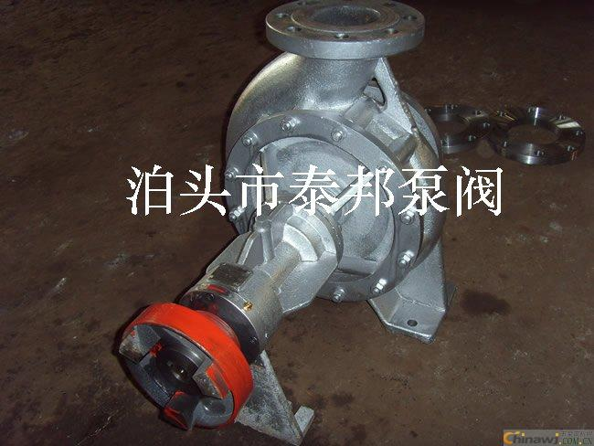 Inspection and cleaning of imported bearings of RY air-cooled centrifugal hot oil pump