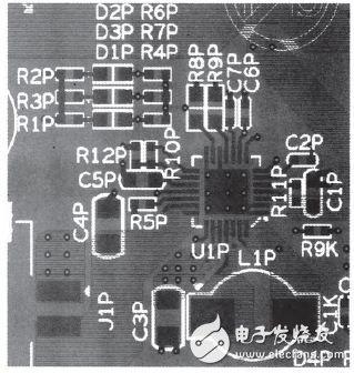 Figure 3 PCB layout (partial)