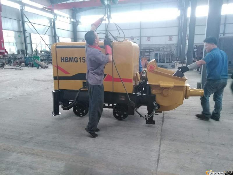 'Jilin-concrete pump-smaller size and more benefits