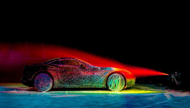 汽车行驶时空气波是如果流动的