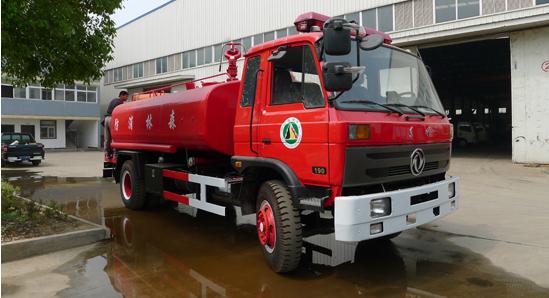 3吨消防洒水车
