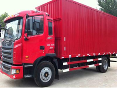 9.6米厢式货车