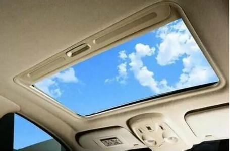 别再羡慕那些敞篷跑车啦,看看汽车天窗的好处