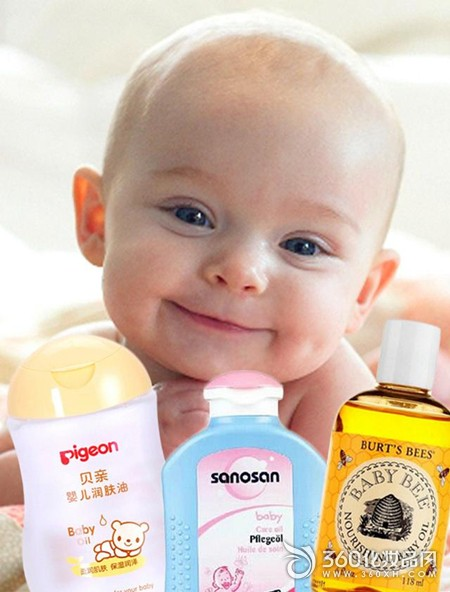 Advanced skin care benefits for baby products