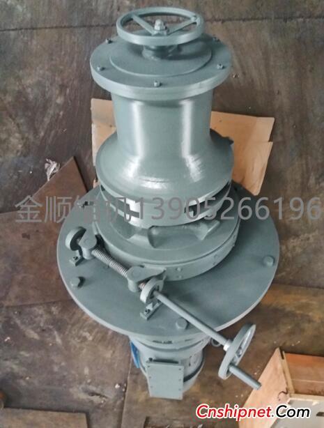 Jiangsu Jinshun Anchor Machine 300KN Yongtai Hydraulic Winch successfully passed inspection