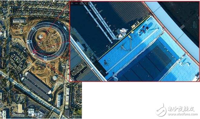 Aerial photography of Apple's new spaceship headquarters: drones flew hundreds of times