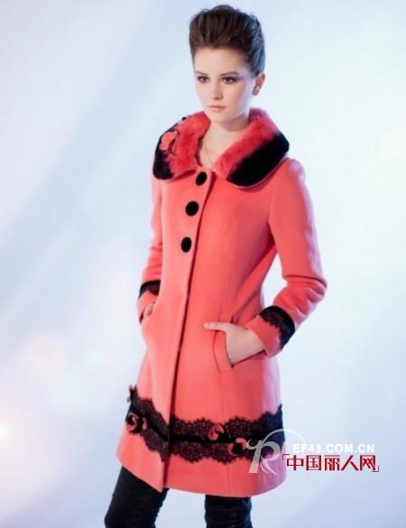圣安茱丽安品牌女装展现女性蕴涵浪漫优雅气息