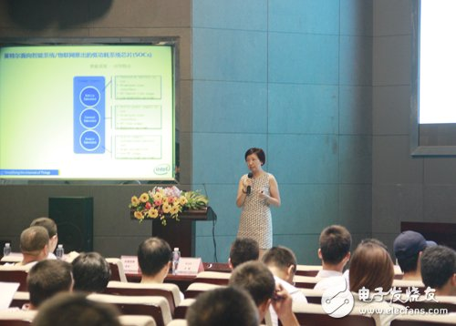 Liu Rong, Product Manager, Embedded and Consumer Electronics Division, Intel China