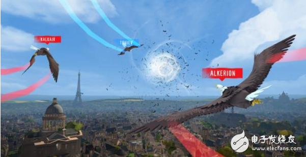 """""""Falcon Soar"""" officially launched today on the HTC Vive platform"""