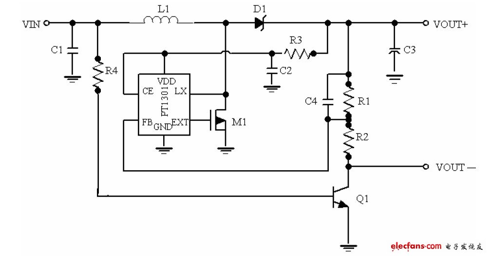 Dual section charging circuit diagram