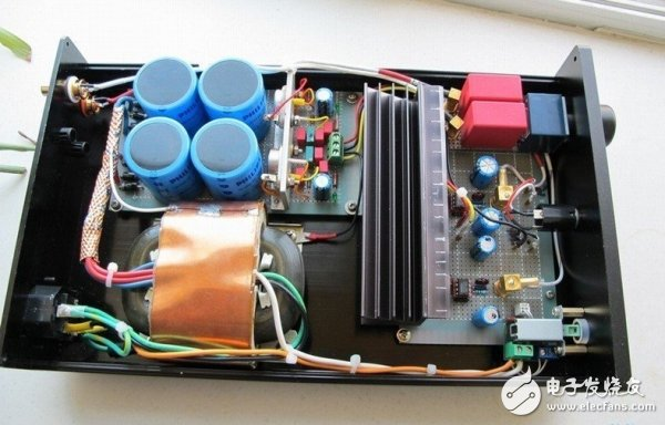 Music enthusiasts must! High quality amp DIY